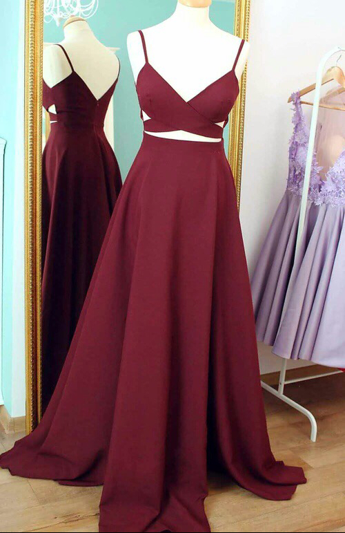 Burgundy Charming Prom Dress,Long Prom Dresses,Charming Prom Dresses,Evening Dress Prom Gowns, Formal Women Dress,prom dress,F187