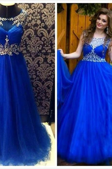 Royal Blue Prom Dress,Long Prom Dresses,Charming Prom Dresses,Evening Dress Prom Gowns, Formal Women Dress,prom dress,F139