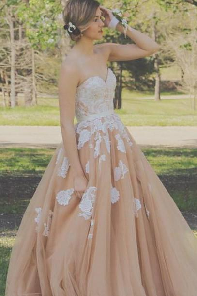 Ball Gown Tulle Prom Dress,Long Prom Dresses,Charming Prom Dresses,Evening Dress Prom Gowns, Formal Women Dress,prom dress,F189