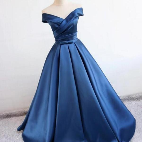 Ball Gown Royal Blue Sexy Prom Dress,Long Evening Dress,Evening Dress,Sweet 16 Dress,Long Prom Dresses,Prom Dresses Z345